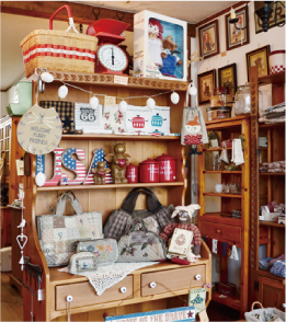 Zakka Shop& Patchwork SchooQuilt Basket