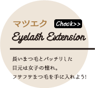 マツエク Eyelash Zxtension